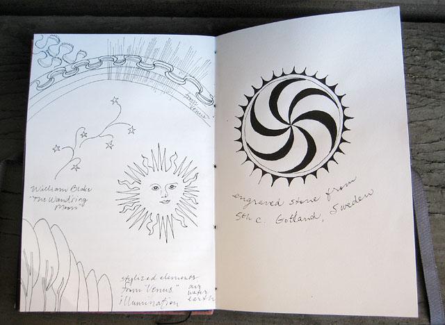 Sun Sketches Journal