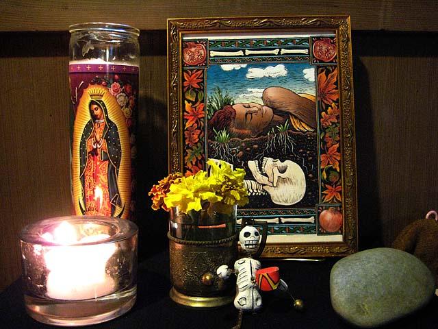 Muertos Altar Top