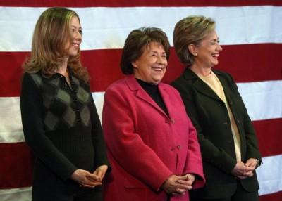 Hillary, Chelsea, Dorothy