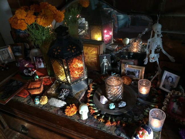 Samhain_Living Room Altar