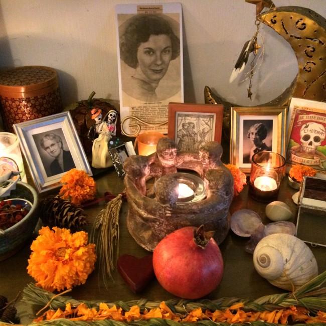 Samhain_Motherline Altar