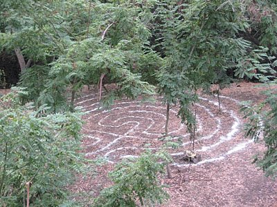 Coyote Crek labyrinth