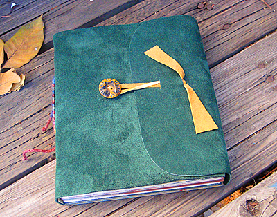 soft leather cover journal