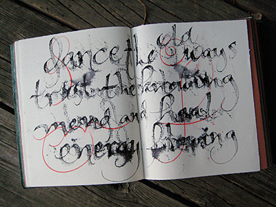 Dance The Old Ways_journal