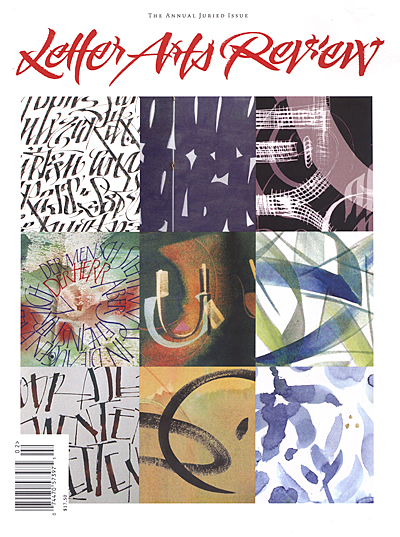 Letter Arts Review Cover 2008