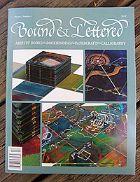 Bound & Lettered Cover