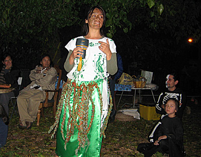 Angelica as Herb Woman