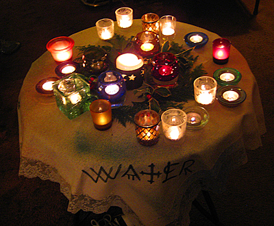 Winter Solstice Circle 2009