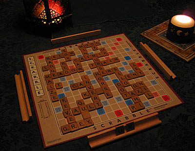 Scrabble for Brighid's Day