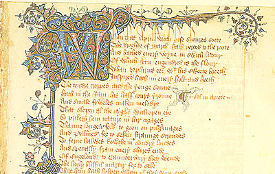 Chaucer's April Prologue, or March 32nd