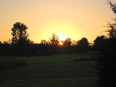 solstice sunrise Pennsylvania 2010