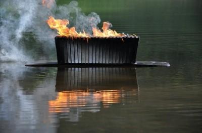 Rhonda Ayliffe - Burning Books on Water