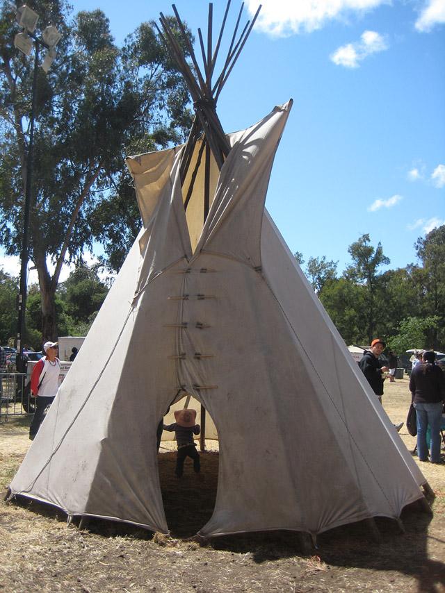 Stanford Powwow Tipi