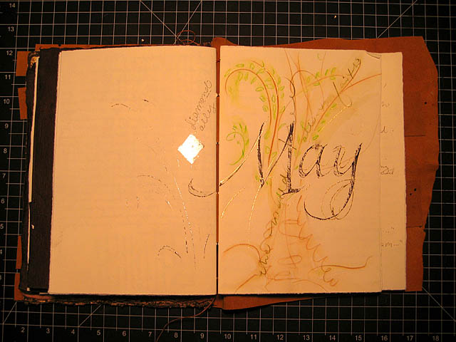 Cross-Structure Journal May Gilding