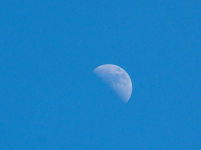 First Quarter Moon Summer 2011