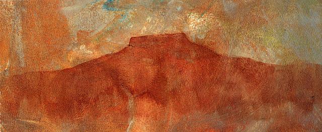 Pedernal Paste Painting