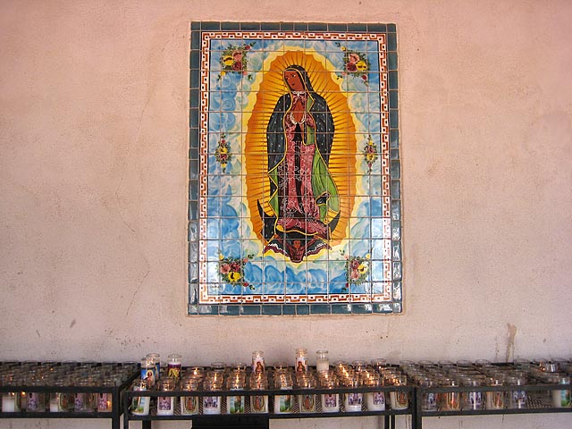 San Xavier del Back Virgin of Guadalupe Mosaic