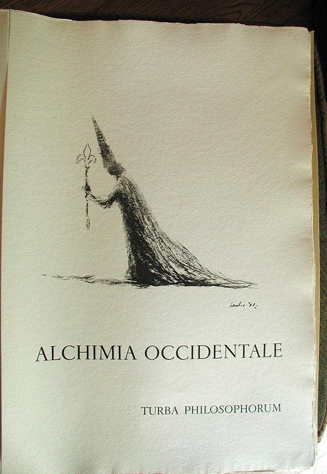 Dali Alchimie Occidentale page spread