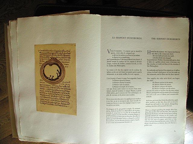 Dali Alchimie Serpent Ouroborus