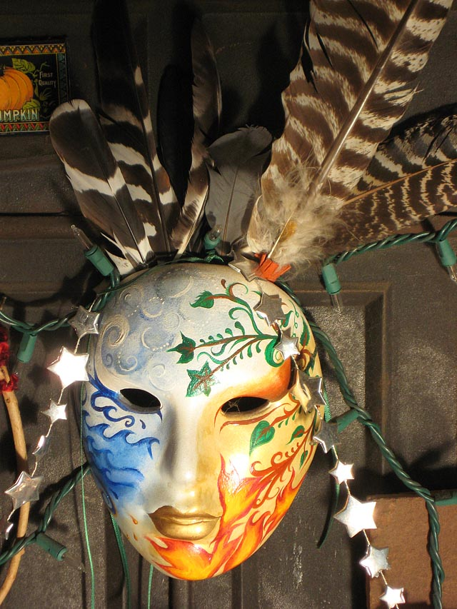 Samhain Elements Altar Mask