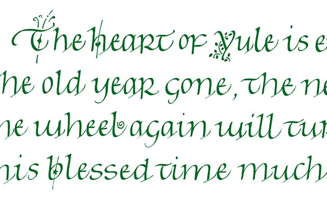 The Heart Of Yule detail
