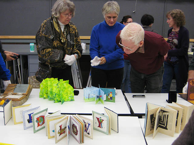 23 Sandy Gallery Trunk Show Bay Area Book Artists