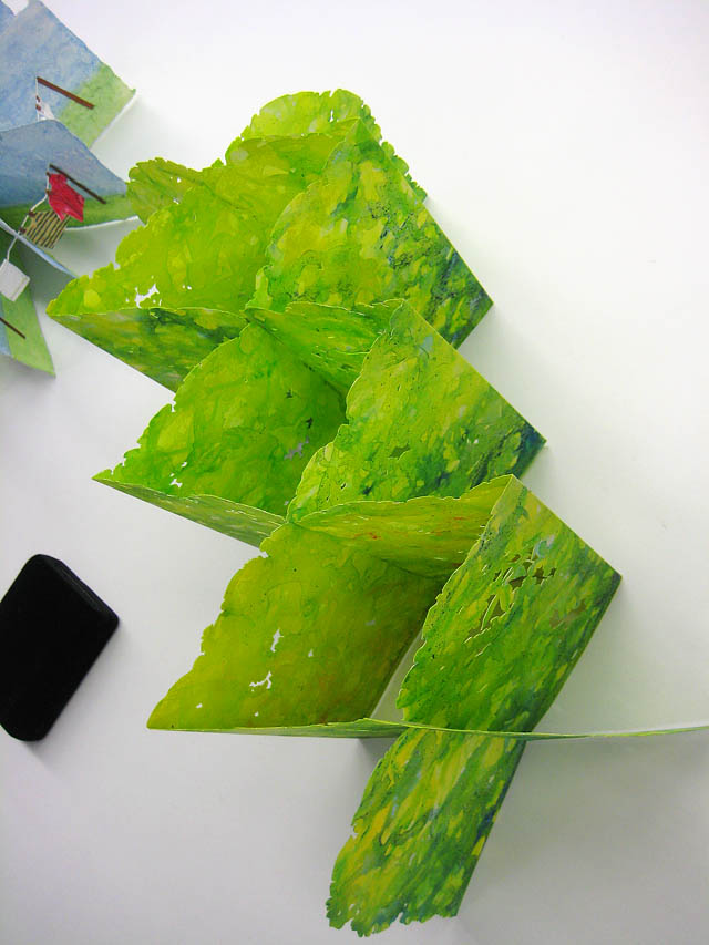 Folded Forest  by Elizabeth Sanford