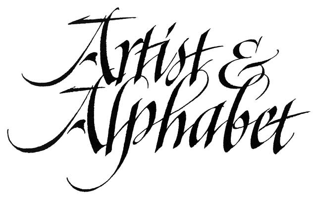 Alice Koeth - Artist & Alphabet Title ©1999