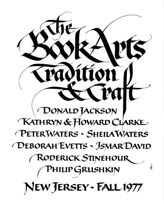 Alice - The Book Arts Poster