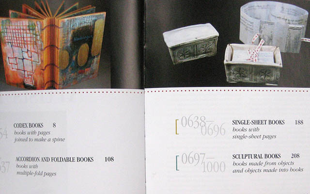 1000 Artists Books Contents Pages