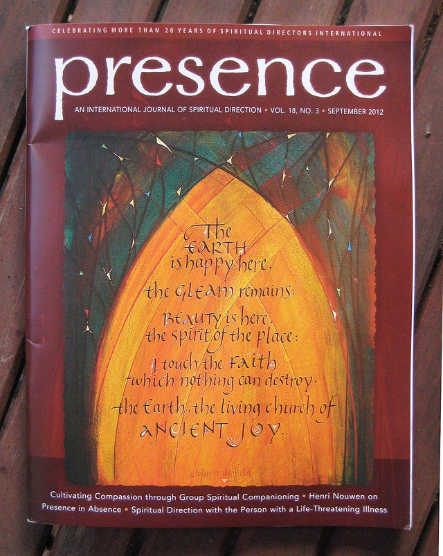 Presence Cover 2012 Earth Is Happy Here