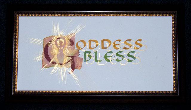Goddess Bless by Cari Ferraro