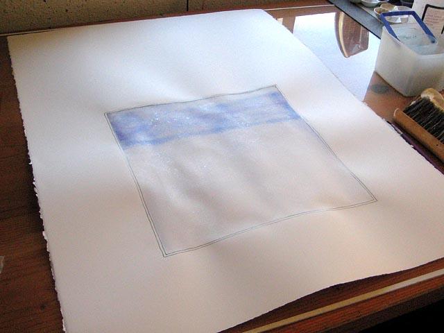 warped watercolor