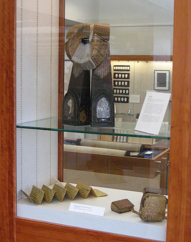 SCU 2013 Sacred Texts Exhibit Daniel Essig Luna