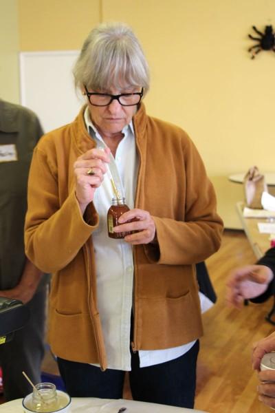 Manuscript Gilding_Judy Measuring Honey