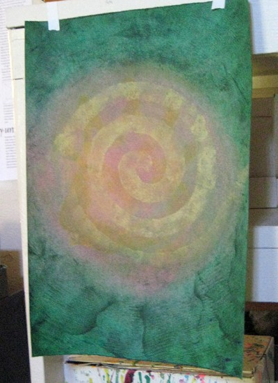 Let Union Be Spiral Art Painting