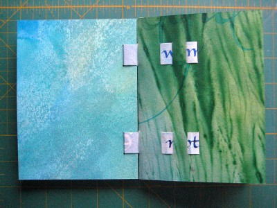 Strip Binding First Page