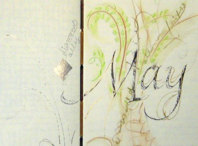 May_gilded journal page_2011