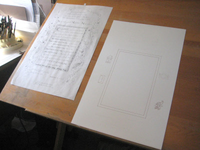 Matthew 25 Award_Drawing Table