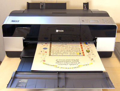 Matthew 25 Award_Epson 3880 Printer