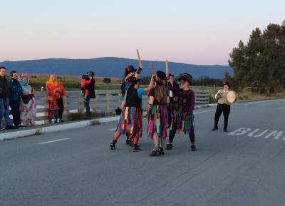 Mad Molly morris dancers Beltane morning