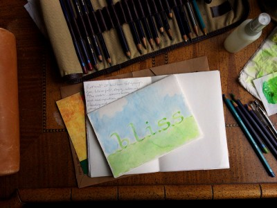 Bliss 2016 journal page