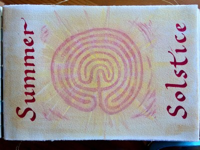 Summer Solstice Journal Page 2015