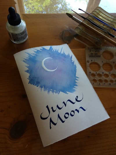 Summer June Moon Page