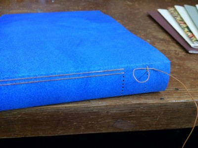 Journal - long stitch binding with kettle stitch