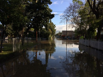 Coyote Creek Flood_Brookwood Alley at 19th