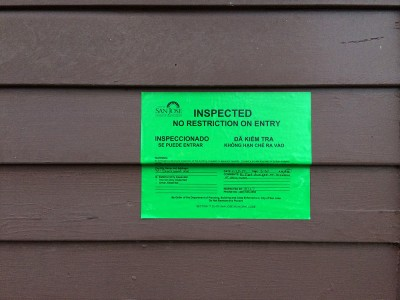 Coyote Creek Flood_Inspection Clearance