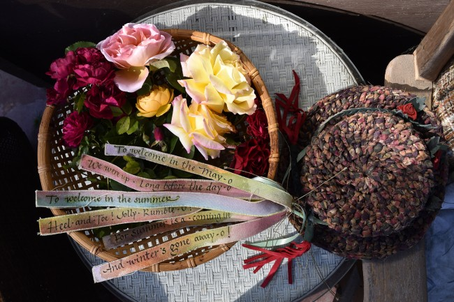 Beltane Roses Hat and Song