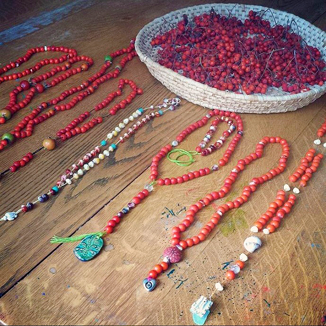 Gaian Retreat_Botanical rosary examples