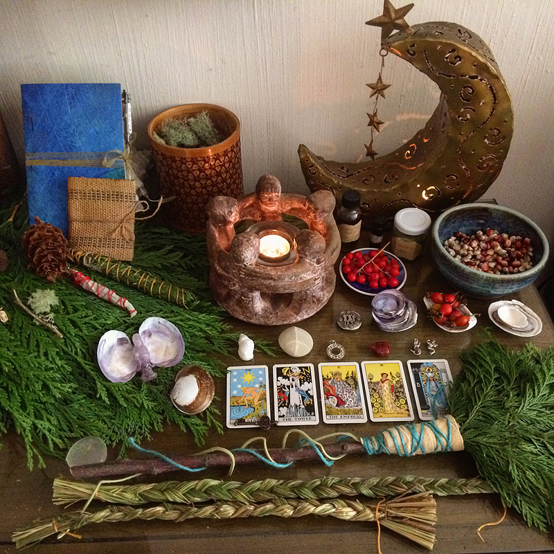 Gaian Retreat_Home Altar
